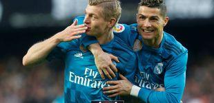 Post de El Real Madrid de la 'BBC' recuerda cómo sufrir y vuelve a hacer latir su corazón