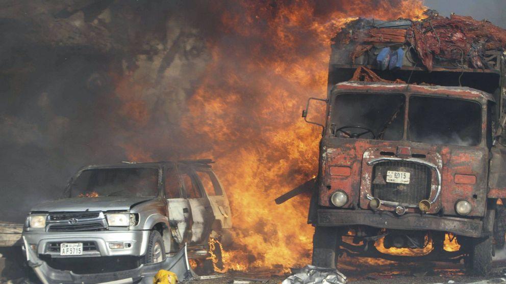 Estallan dos coches bomba junto al palacio presidencial de Somalia