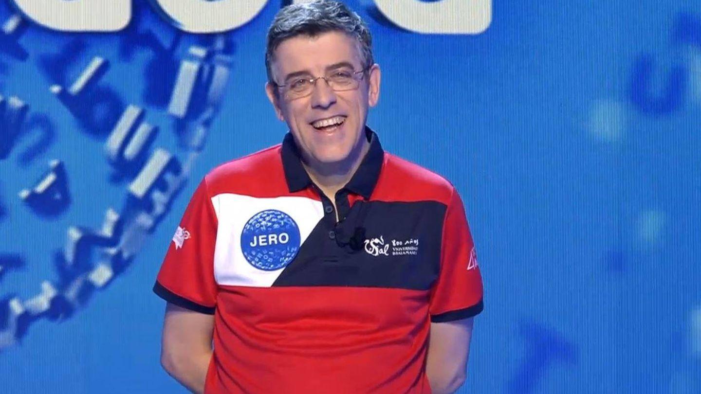 Jero Hernández, último concursante eliminado de 'Pasapalabra'. (Mediaset)