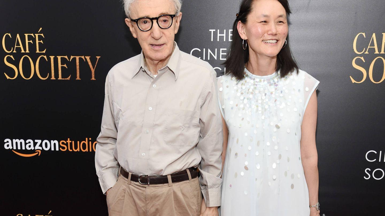 Woody Allen y Soon-Yi Previn. (Getty)