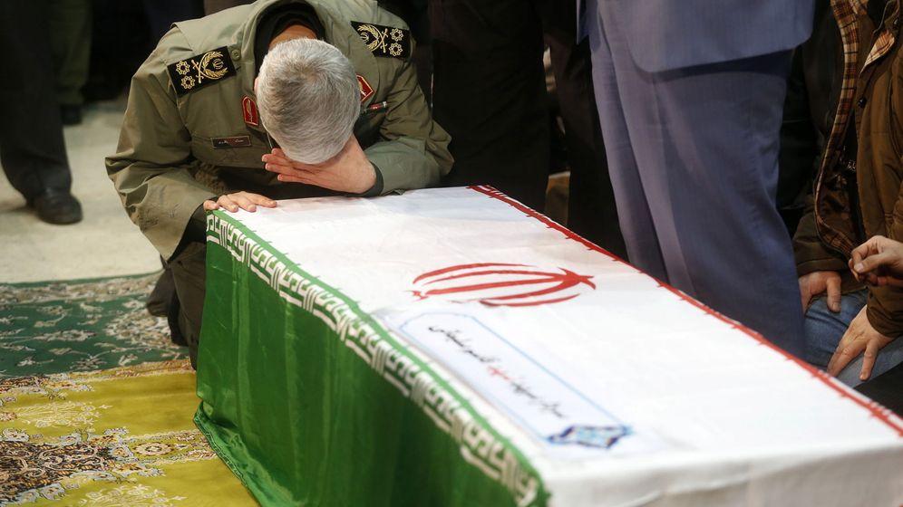 Foto: Funeral de Qasem Soleimani en Irán. (EFE)