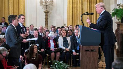 La última de Trump: retira la credencial a un periodista de la CNN tras discutir