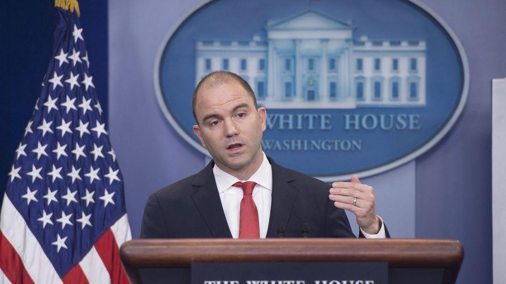 Foto: El ex asesor adjunto de seguridad nacional de la Casa Blanca, Ben Rhodes. (EFE)