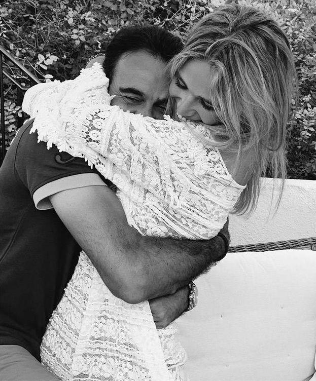Foto: La pareja, en otra de las imágenes publicadas en Instagram