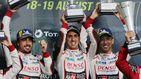 Las 6 Horas de Silverstone: el Toyota de Alonso firma su tercera victoria consecutiva