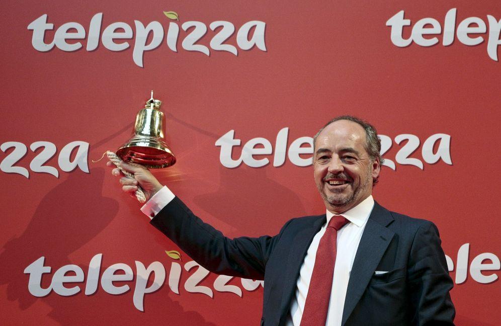 Foto: El presidente de Telepizza, Pablo Juantegui. (Reuters)
