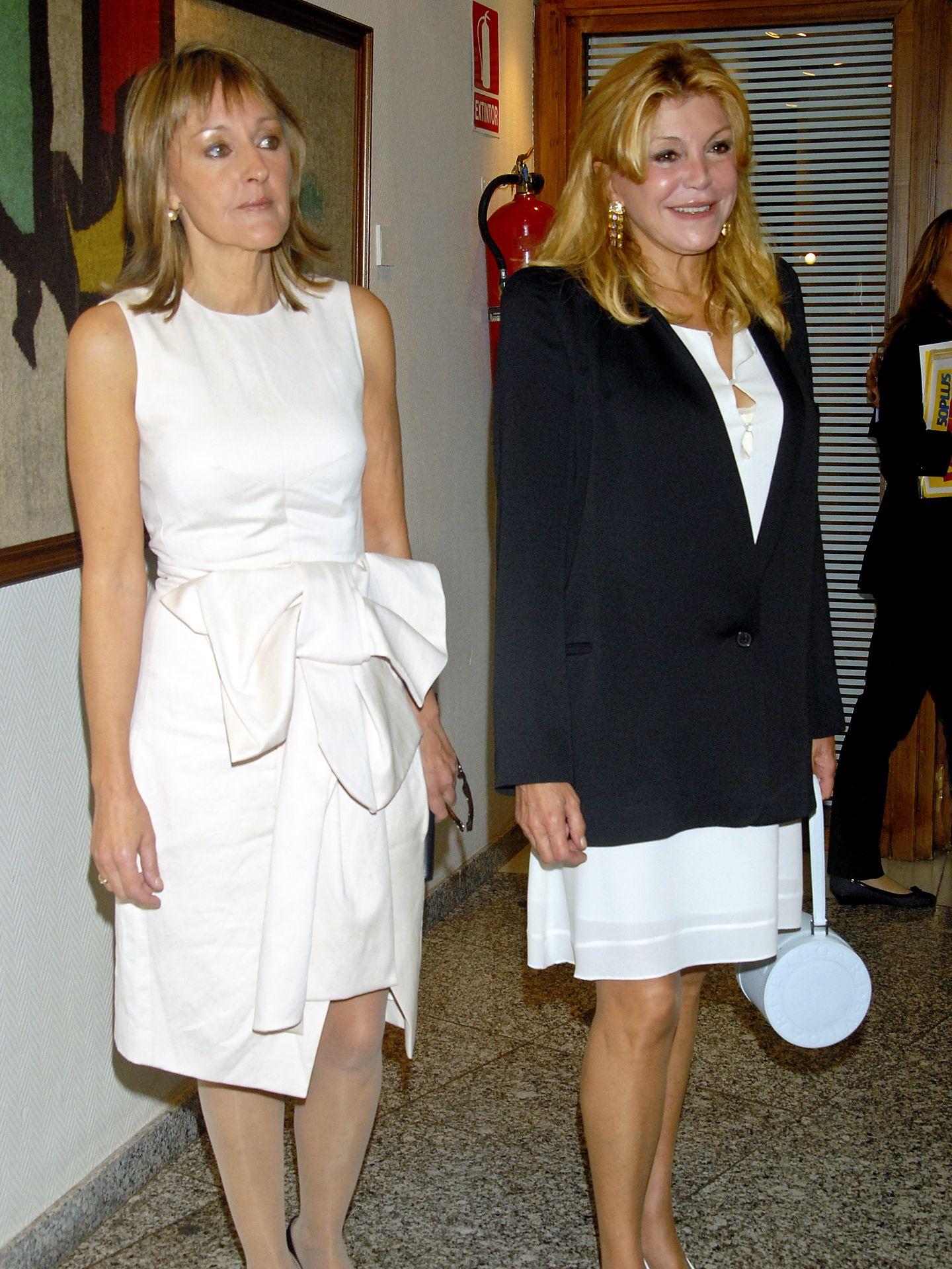 Henar y Tita en 2009 (I.C.)
