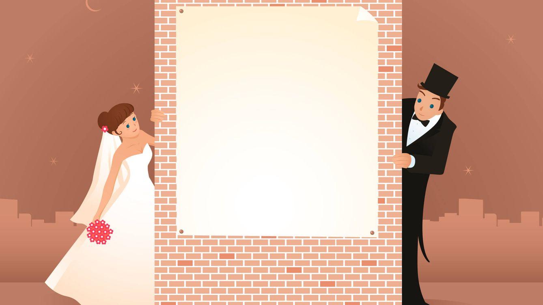 Foto: Hay cosas más importantes que el amor. Por ejemplo, anunciar tu boda en el periódico. (iStock)