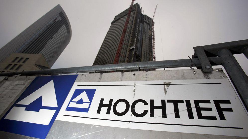 Foto: El logo de Hochtief. (Reuters)
