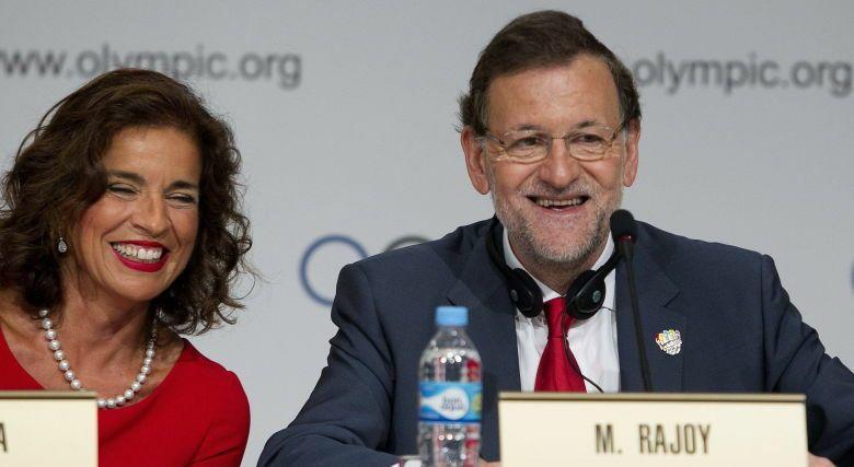 El presidente del Gobierno, Mariano Rajoy, y la alcaldesa de Madrid, Ana Botella. (EFE)