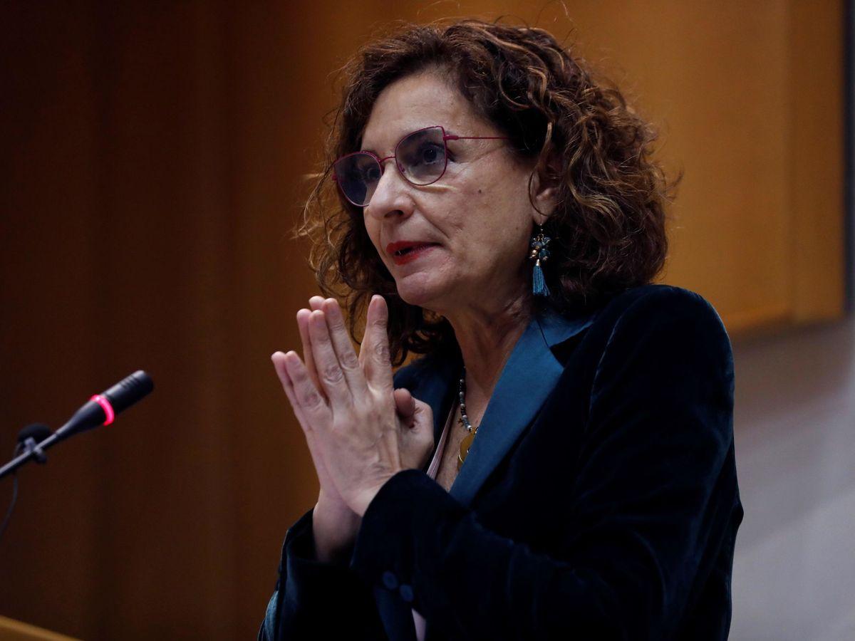 Foto: La ministra de Hacienda María Jesús Montero (EFE)