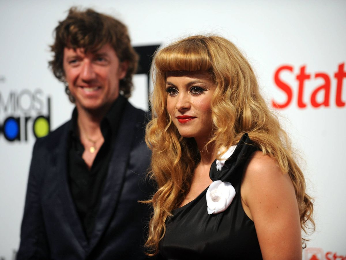 Foto: Colate y Paulina Rubio, en una imagen de 2010. (Getty)