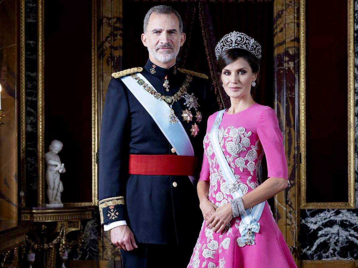 Foto: Don Felipe y doña Letizia. (Casa Real)