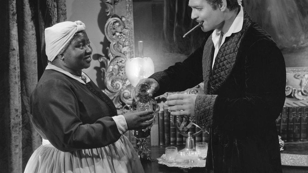 Foto: Junto a Clark Gable en 'Lo que el viento se llevó'.