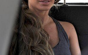 David Bisbal se lleva a su hija a Almería