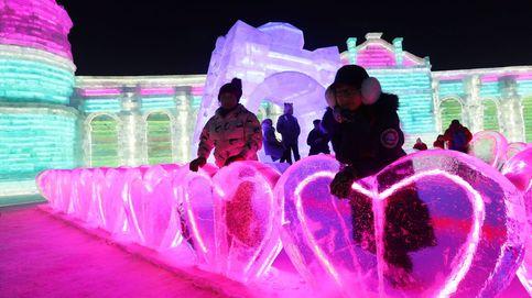 Festival de Esculturas de Nieve y Hielo en la ciudad china de Harbin