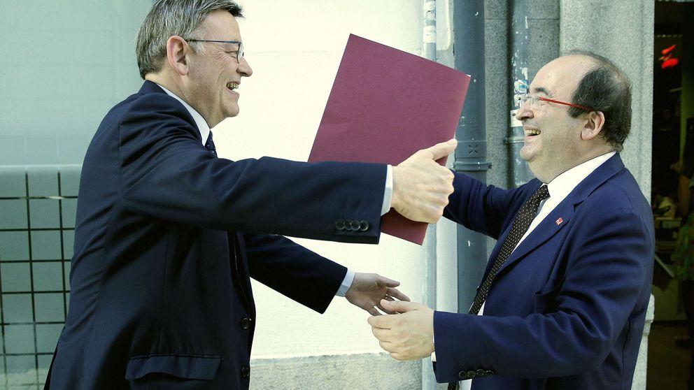 Iceta no está solo en el PSOE: Ximo Puig quiere una quita de 20.245 millones