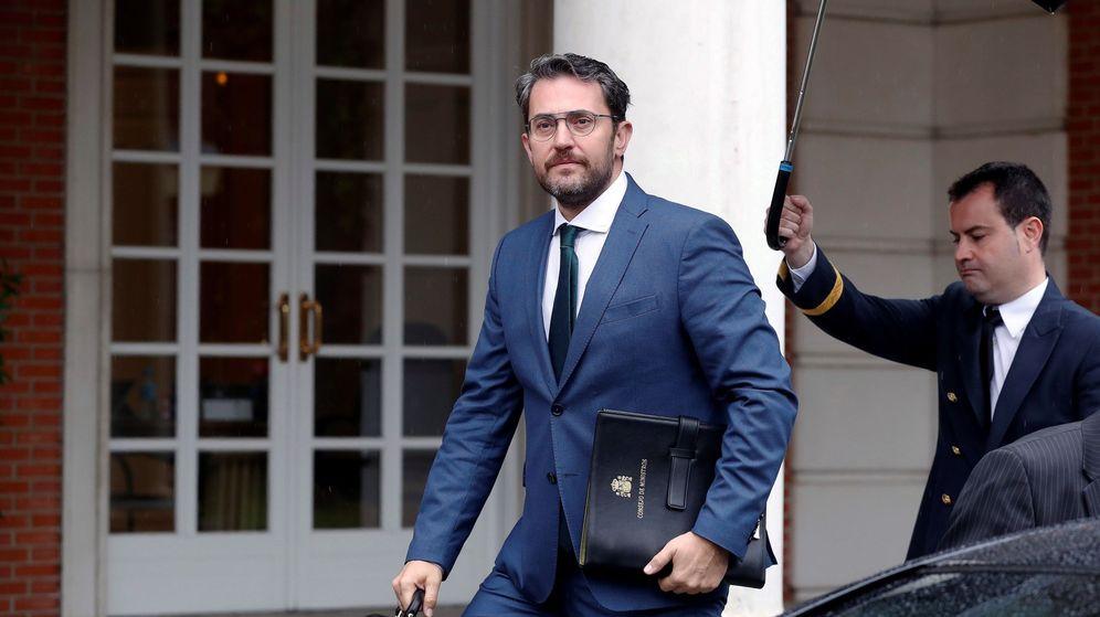 Foto: El ministro de Cultura y Deporte, Màxim Huertas. (EFE)