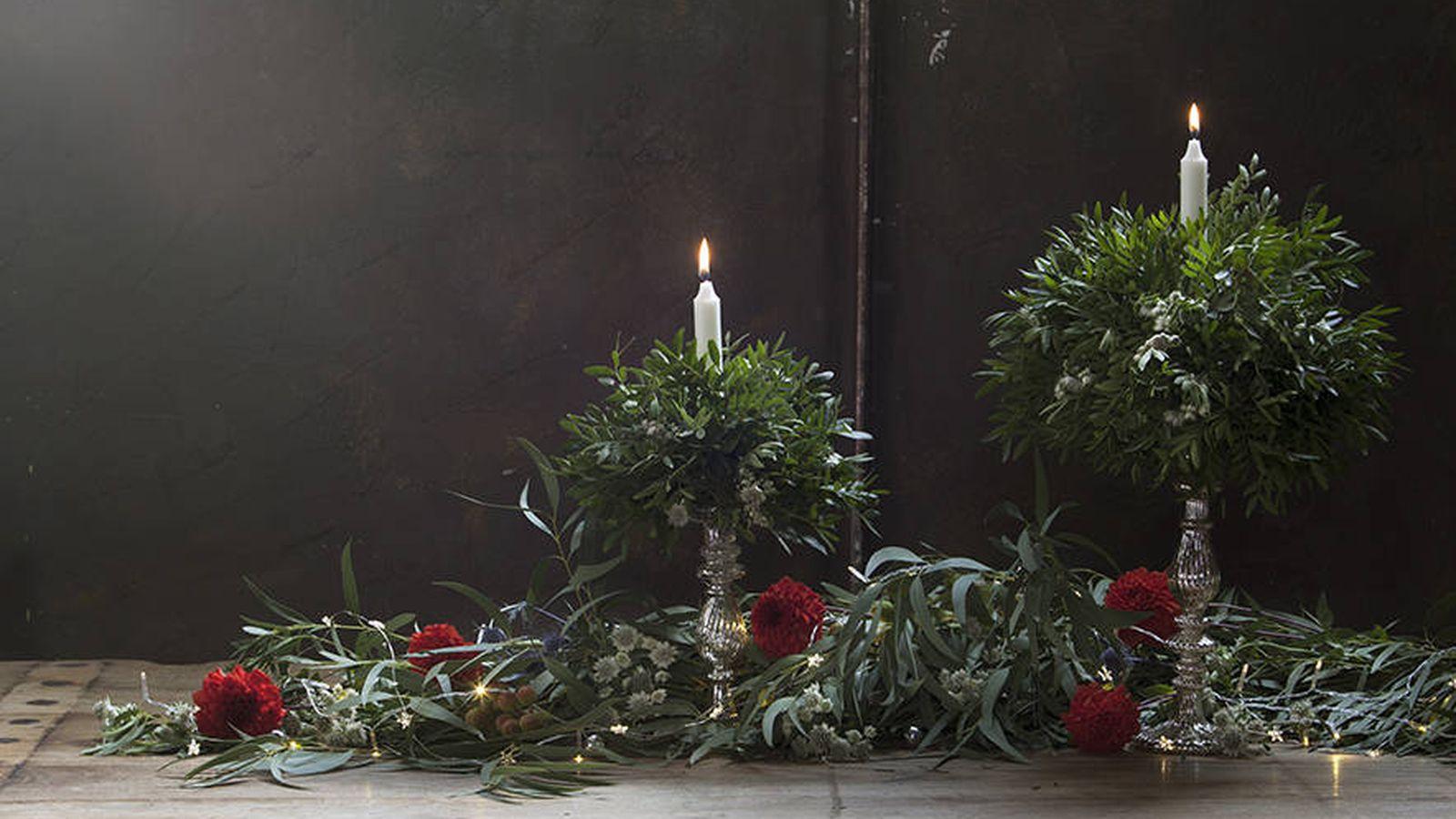 Foto: Pide consejo a Marengo Flores para decorar tu mesa. (Cortesía)