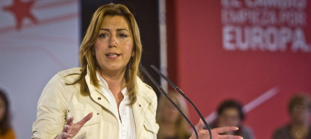 Foto: La secretaria general del PSOE de Andalucía y presidenta de la Junta, Susana Díaz (Efe)