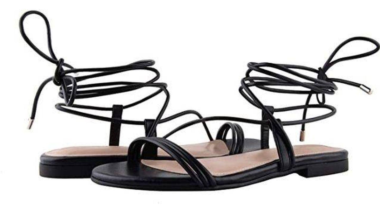 Sandalias atadas de The Drop. (Cortesía)
