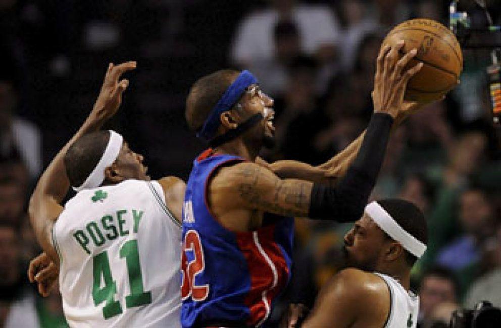 Foto: Los Pistons quitan el invicto a los Celtics y empatan la serie