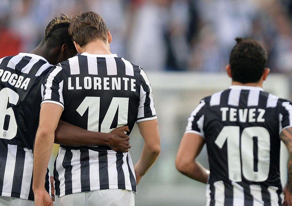 Foto: Pogba, Llorente y Tévez le costaron 9 millones a la Juventus (EFE).