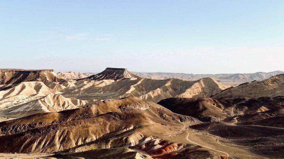 Foto:  Las características geográficas del desierto de Négev hacen de este lugar un paraje único. Foto: Cristina Suárez