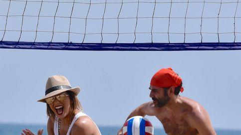Eva Longoria quema adrenalina con su marido en las playas de Marbella