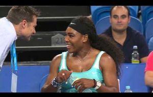 Un café expreso para Serena Williams
