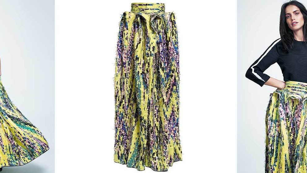 Una falda mejor que las de Wang