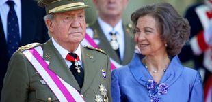 Post de Doña Sofía hace diez años: