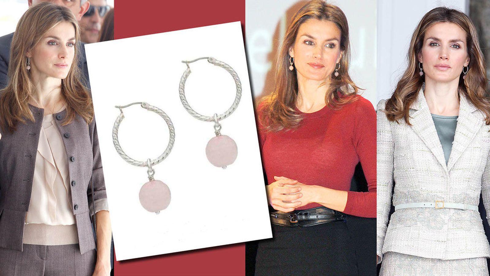 ccaac4160316 Reina Letizia  Vanitatis y Alexandra Plata sortean los pendientes de Doña  Letizia