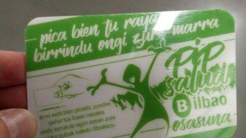 'Pica bien tu raya': Bilbao la lía con una campaña a los jóvenes cocainómanos