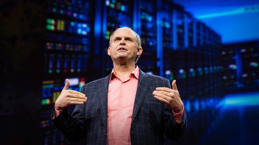 Foto: Robin Hanson, durante una charla Ted.
