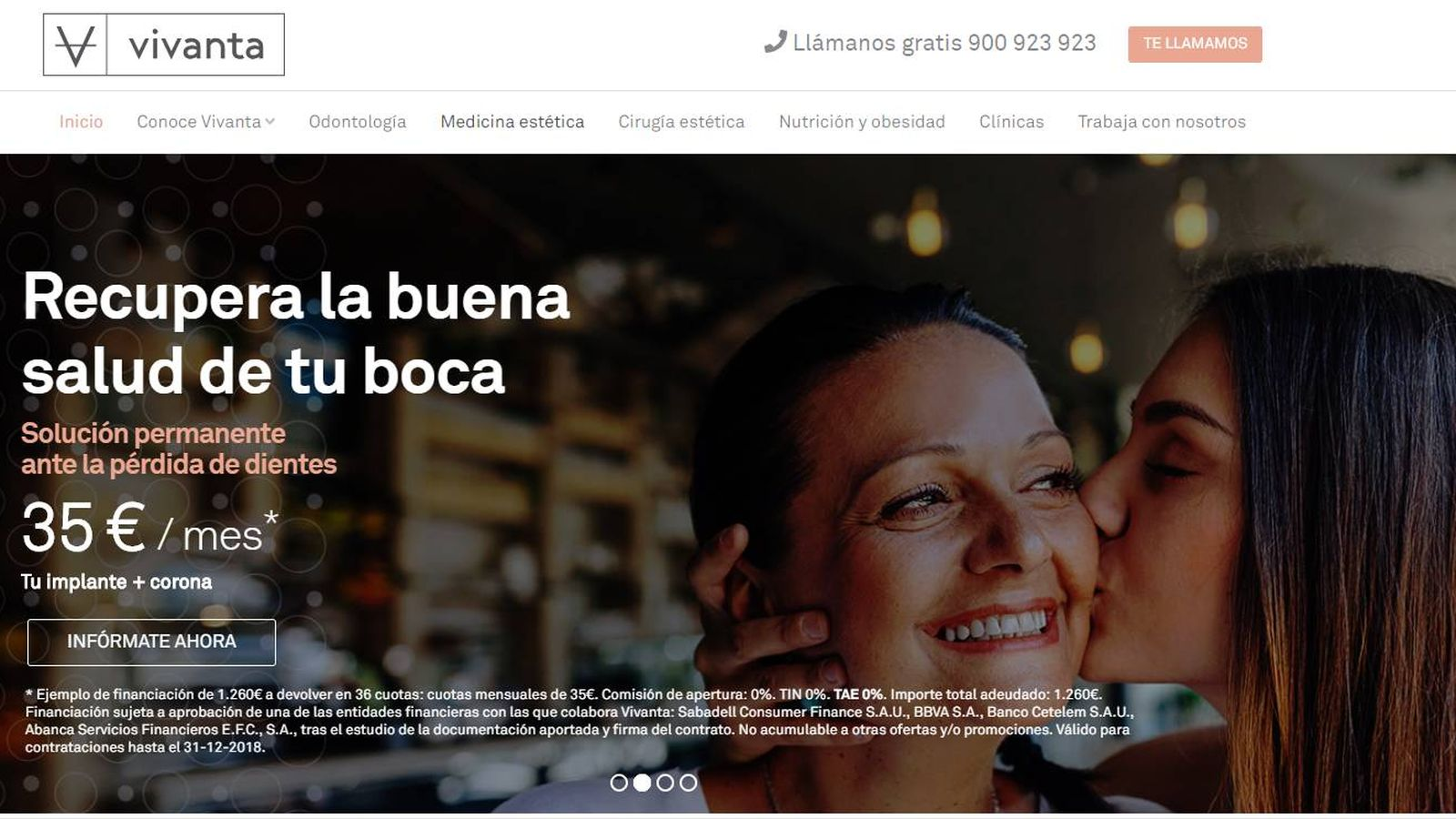 Foto: Página web de Vivanta.