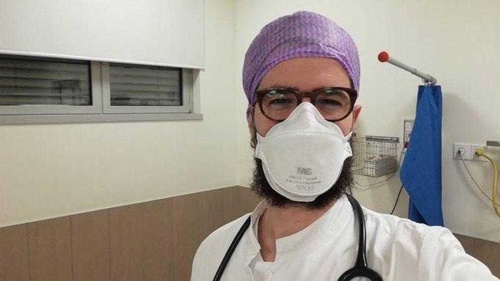 El médico español que lucha contra el pánico desde la zona 0 del coronavirus en Italia