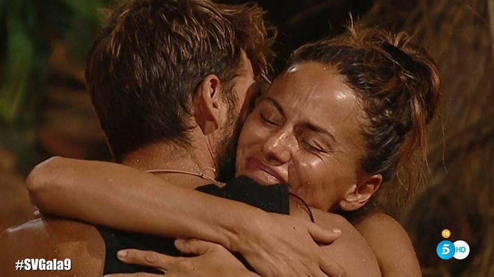 Foto: Mónica Hoyos, expulsada y repescada en 'Supervivientes'. (Telecinco)