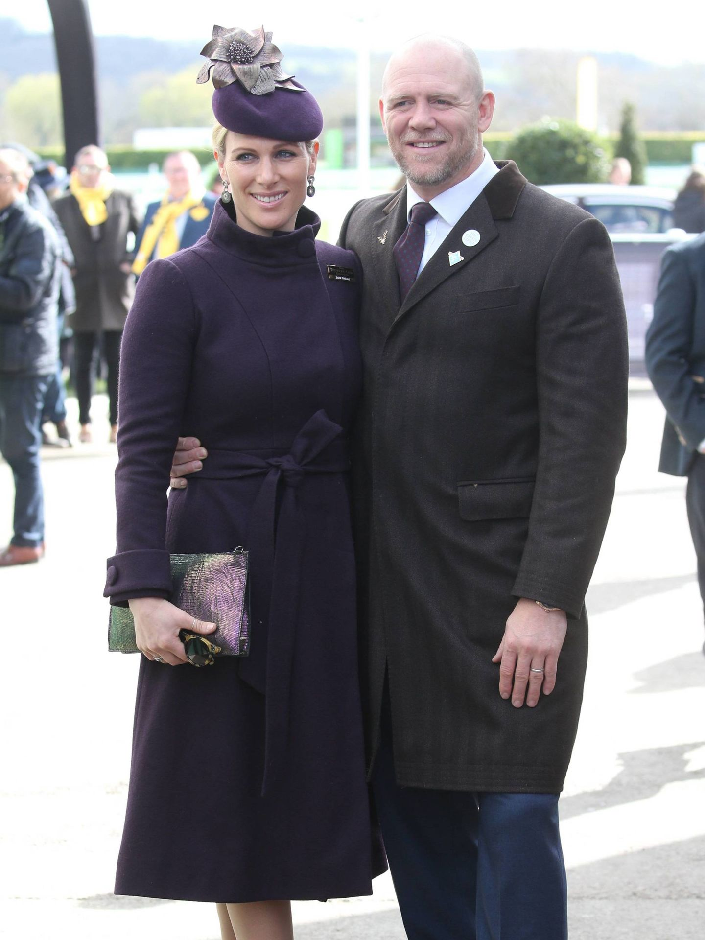 Zara y Mike Tindall, en 2020. (Cordon Press)