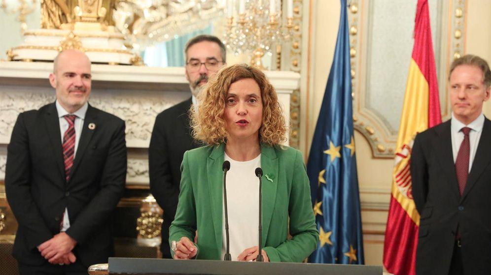 Foto: La ministra de Política Territorial y Función Pública, Meritxell Batet. (EP)