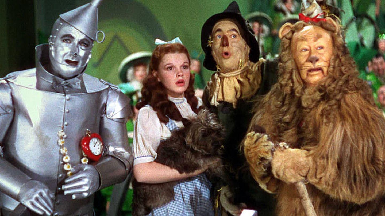 Judy Garland en un fotograma de 'El mago de Oz'.