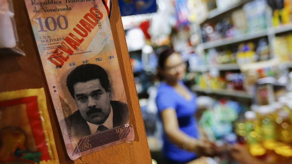 Foto: Un billete con la cara del presidente Nicolás Maduro (Reuters).
