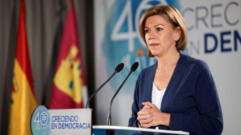 Foto: La exsecretaria general del Partido Popular, María Dolores de Cospedal. (EFE)