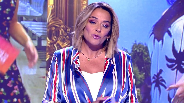 La presentadora Toñi Moreno. (Mediaset)