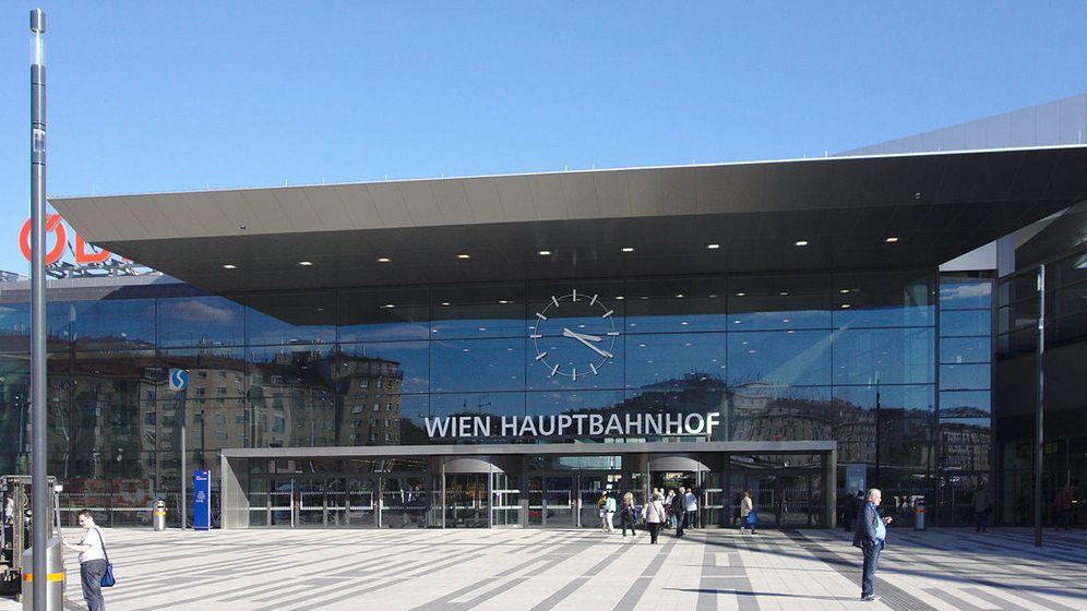 Foto: Estación Central de Viena, donde ha ocurrido el suceso. (Wikipedia)