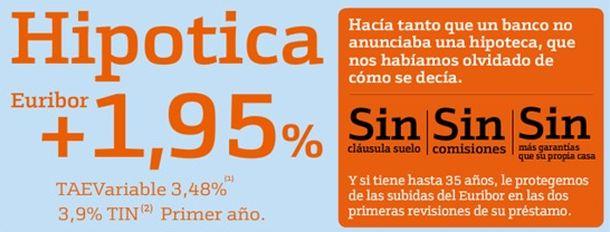 Foto: Del silencio hipotecario a la 'hipotica' o la 'ecohipoteca'