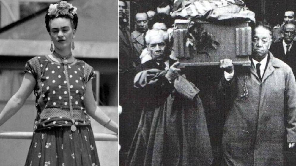 Foto: Fotografías de Frida Kahlo del lote que será subastado. (Subastas Morton)