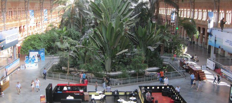 Foto: Zona comercial de la estación Puerta de Atocha.