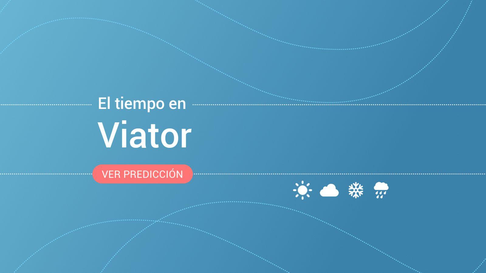 Foto: El tiempo en Viator. (EC)