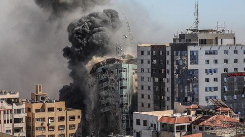 Israel bombardea otra torre en Gaza